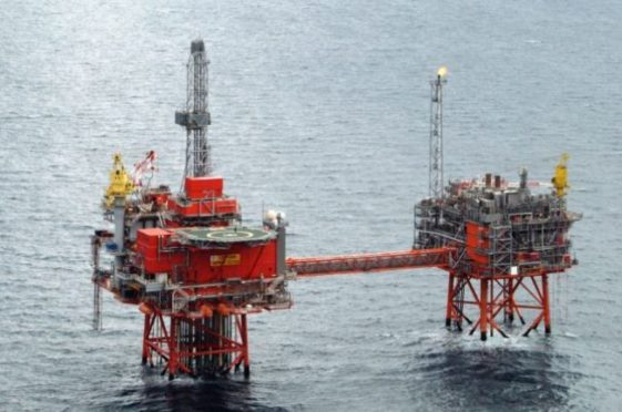 Bidding war begins as Chrysaor and Premier emerge as interested parties. Pic: Chevron's Captain platform.
