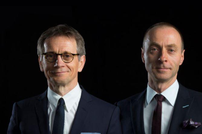 Dennis Donald, left, and Duncan MacNiven