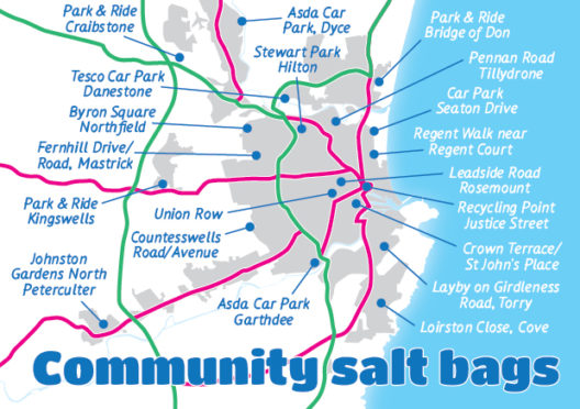 Community Salt Bag Map