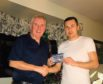 Ross County Football Club midfielder Don Cowie nominates his father for this years campaign.