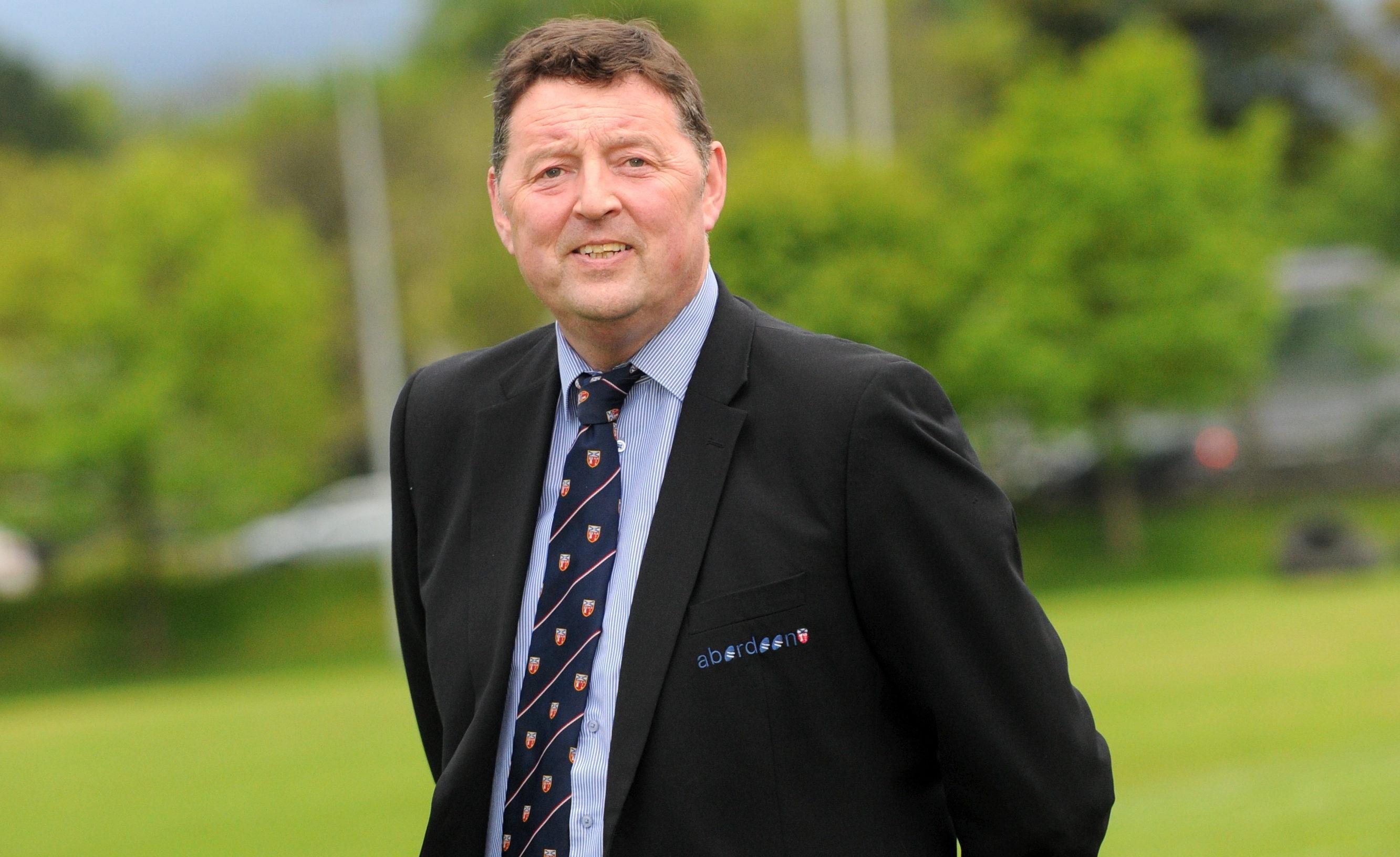 Aberdeen Grammar chairman and director of rugby Gordon Thomson.