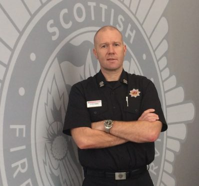 David Farries has appealed to the public to help the fire service plan for the future.
