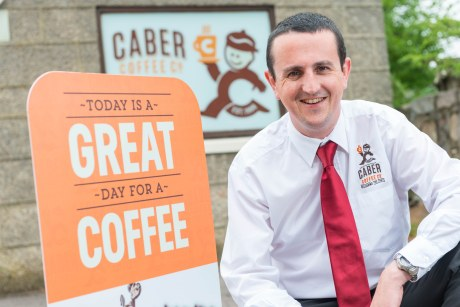Caber coffee managing director Findlay Leask is worried about a no-deal Brexit.