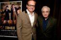 Jon S Baird with legendary film director Martin Scorsese last year