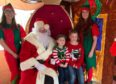 Santa paid a visit to Kyle of Lochalsh lifeboat station