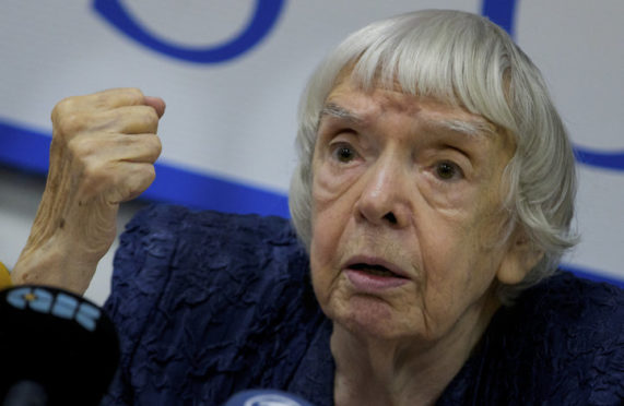 Russian human rights activist Lyudmila Alexeyeva has died at the age of 91.
