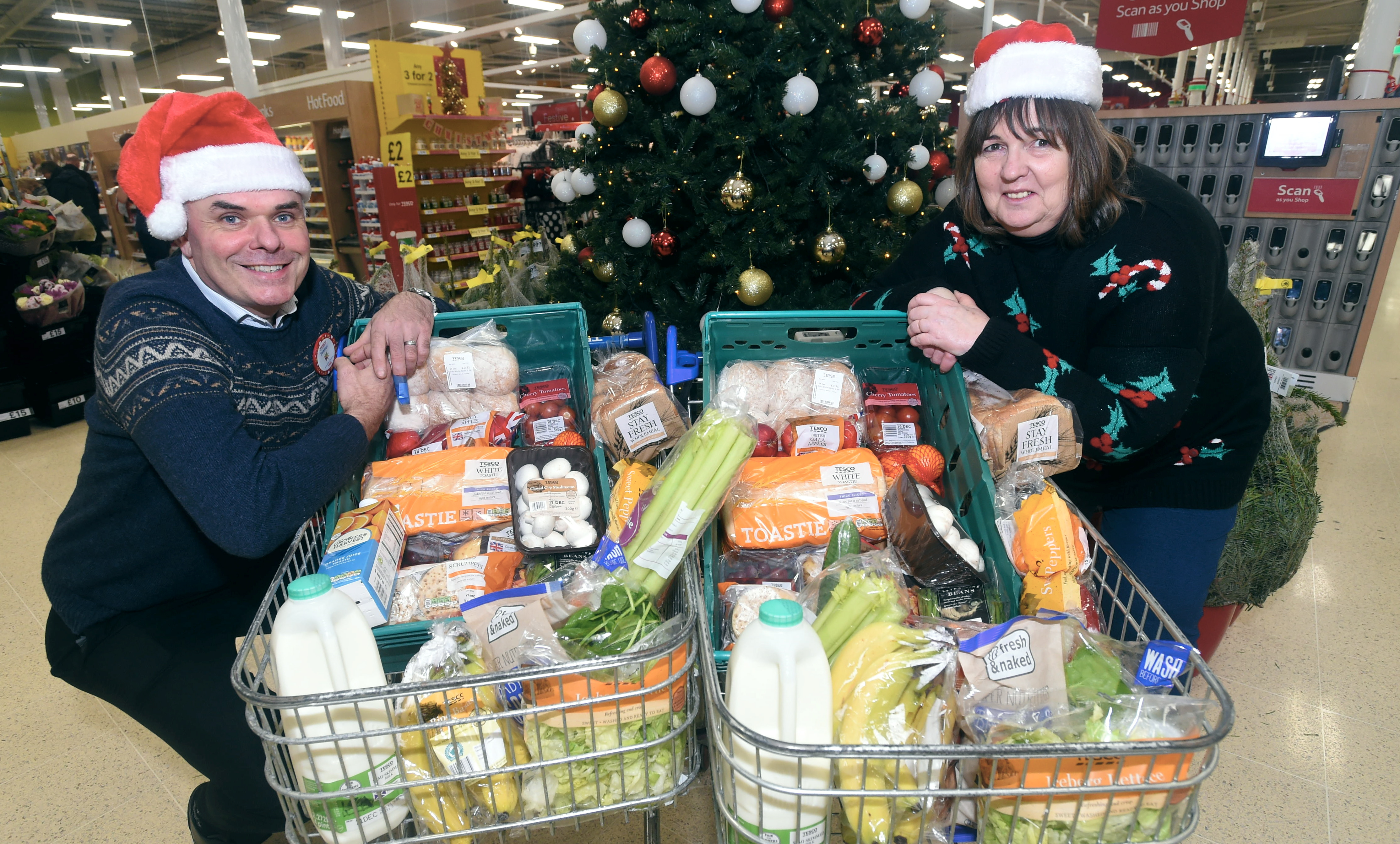 Councillor Geva Blackett has organised three free festive lunches in Deeside.