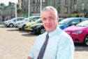 Brian Topping at Saltoun Square car park in Fraserburgh.