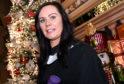 Maria Duncan of Shetland at RGU graduations at Aberdeen's Beach Ballroom.