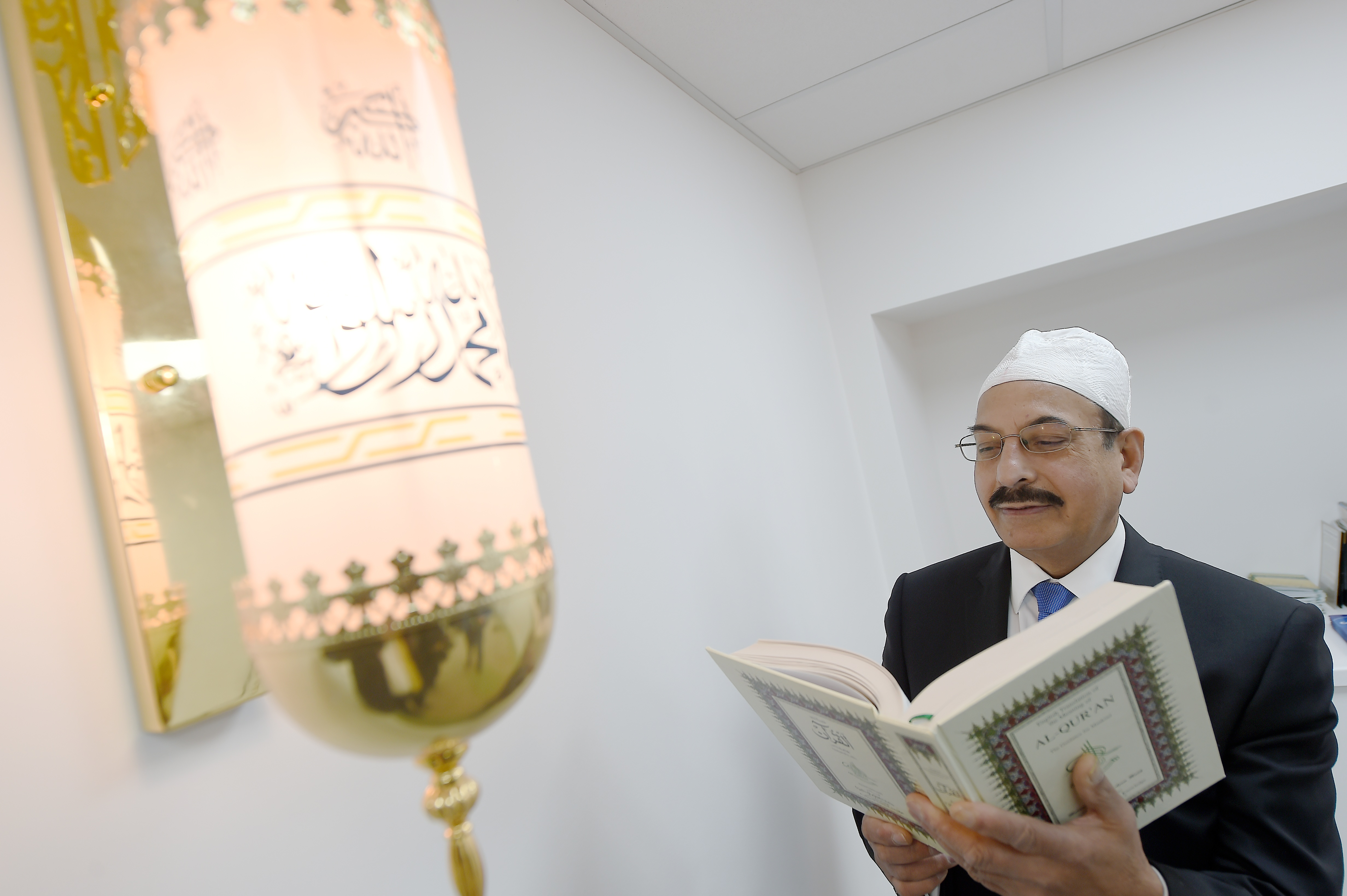 Abdul Ghaffar from Harris is the secretary of  the Stornoway Mosque Trust. Picture by Sandy McCook