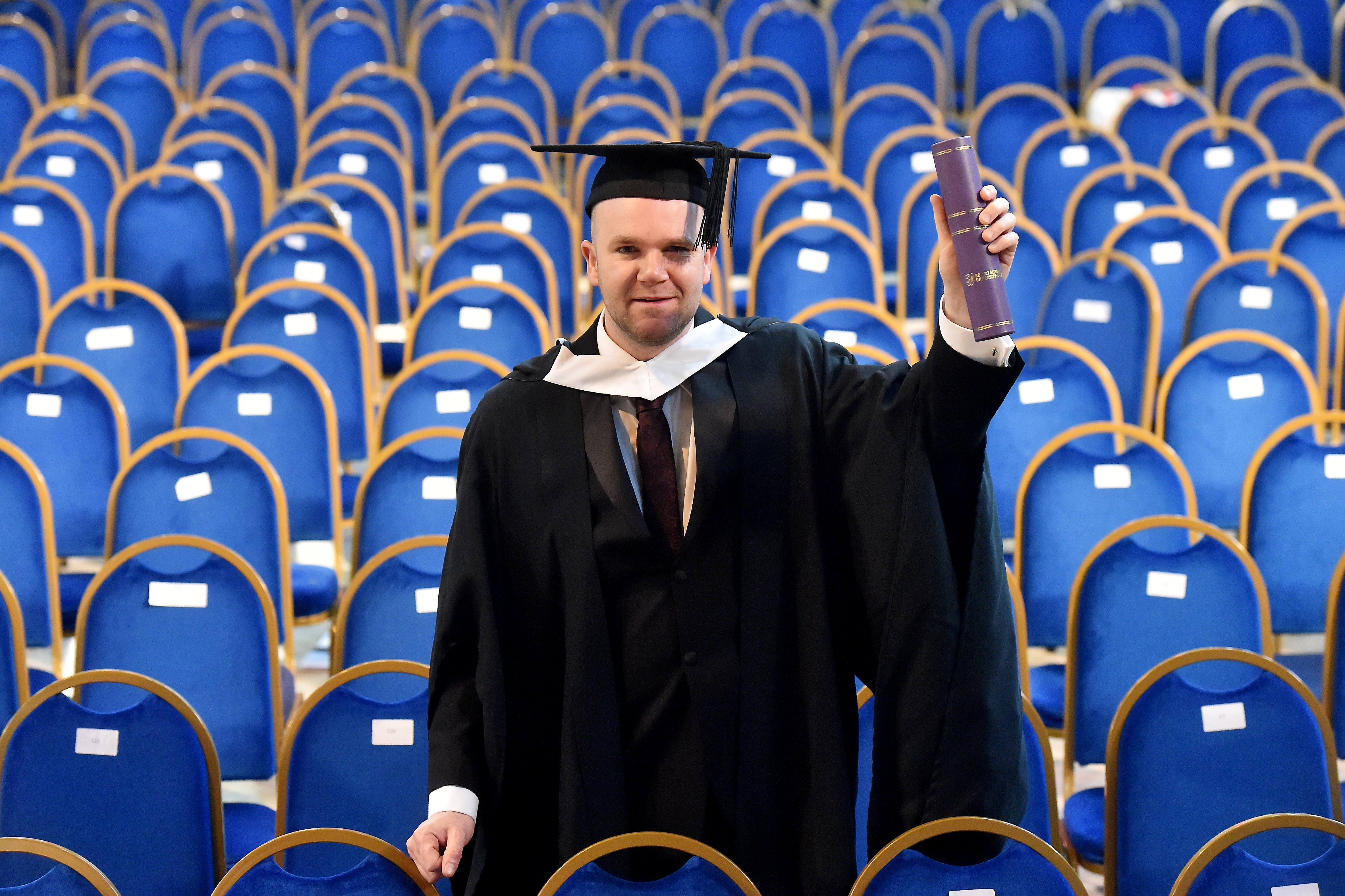 Barry Wright has graduated with a Bachelor of Nursing (Mental Health)