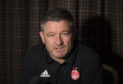 Dons assistant manager Tony Docherty