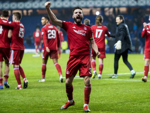 Graeme Shinnie is out of contract at Aberdeen at the end of the season.