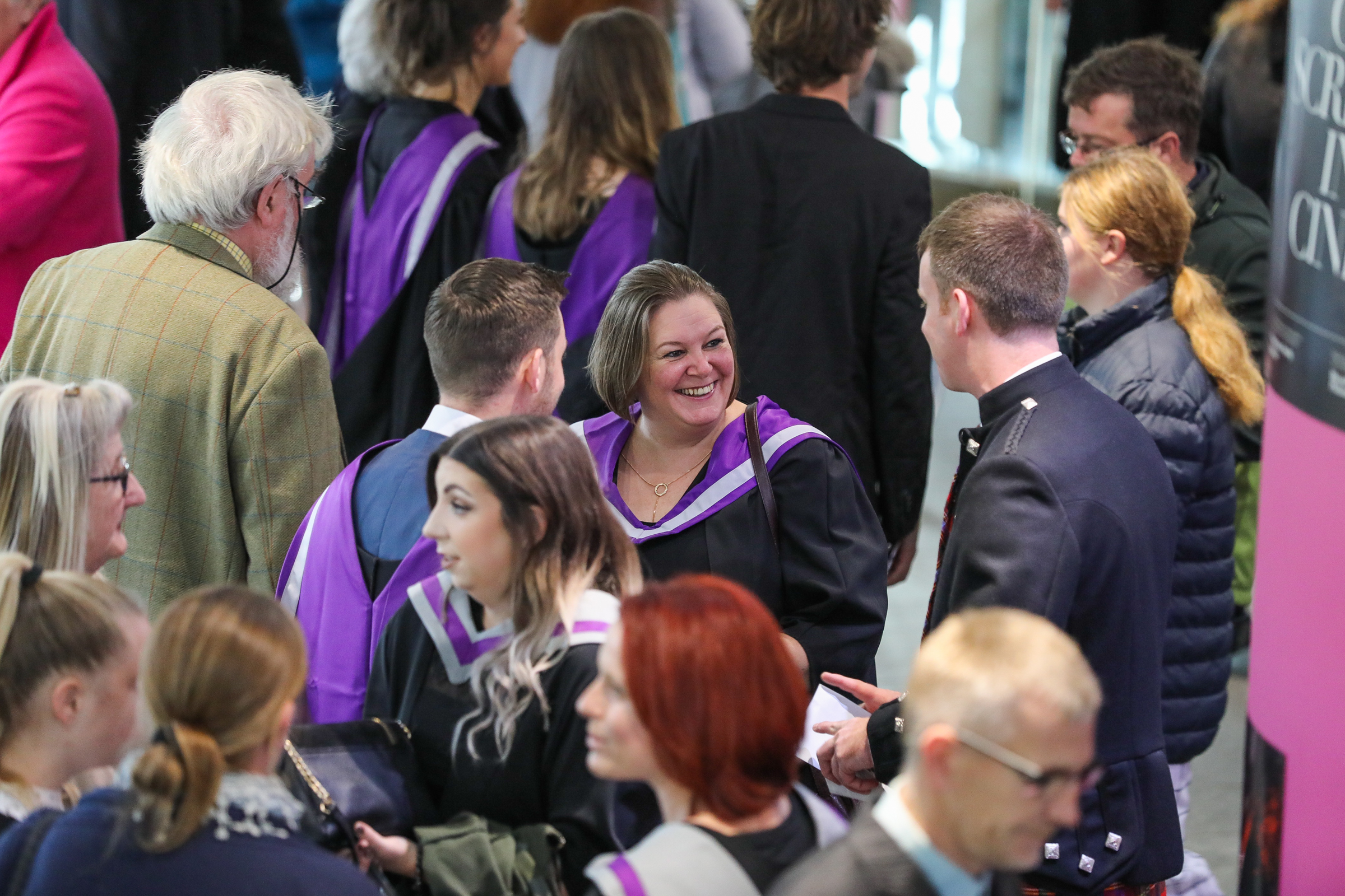 UHI Graduation. Eden Court, Inverness