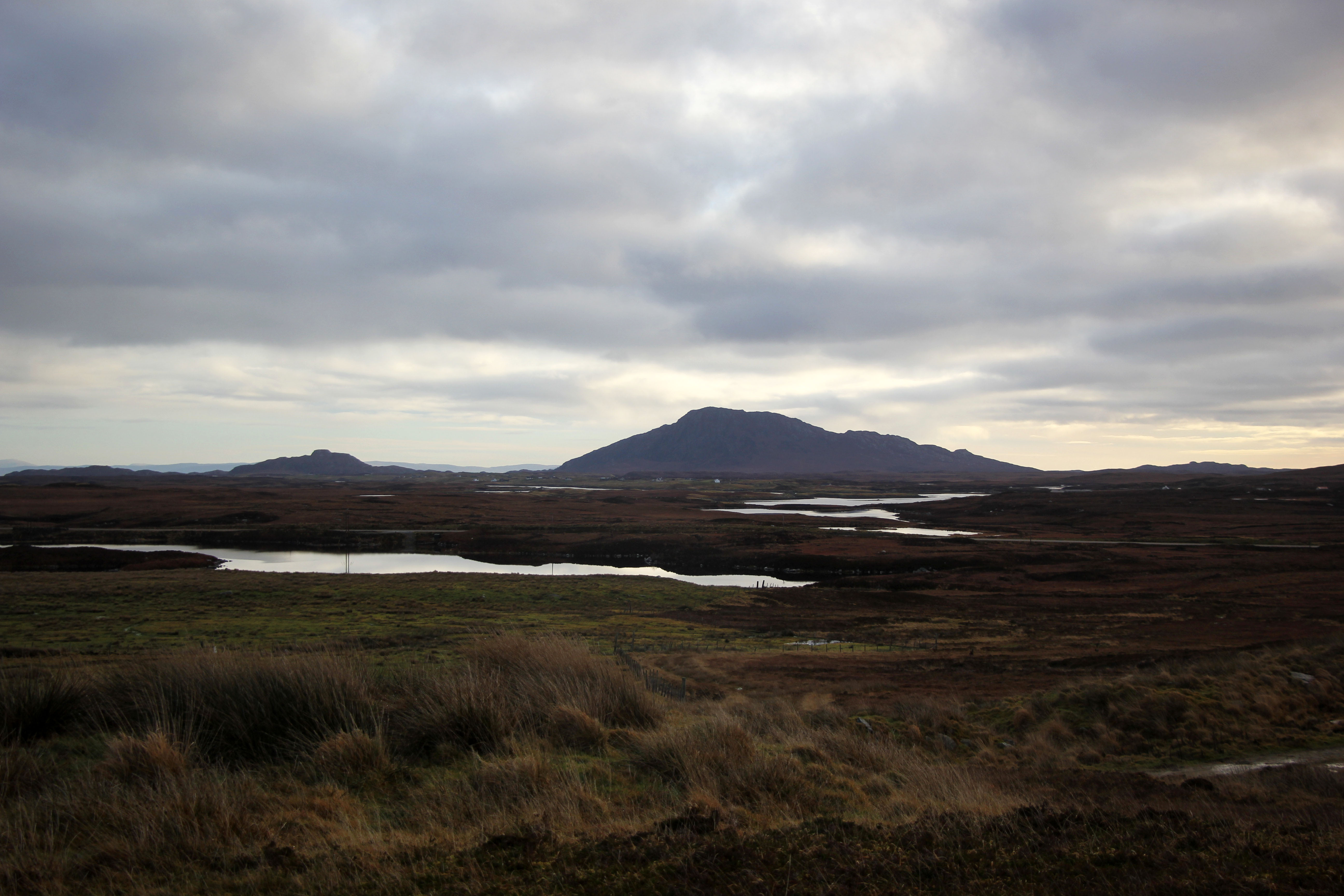 The site of the UistWind project in Criongrabhal, near Clachan-na-Luib