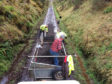 Dava Way Association volunteers are resurfacing the 24-mile route from end to end.