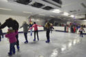 Skaters to get to grips with the ice at last year's Frozen Fraserburgh event