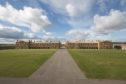 Fort George barracks.