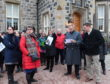 Aberdeenshire councillors visit the Menie Estate last year
