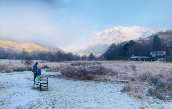 Winter at Glenfinnan.