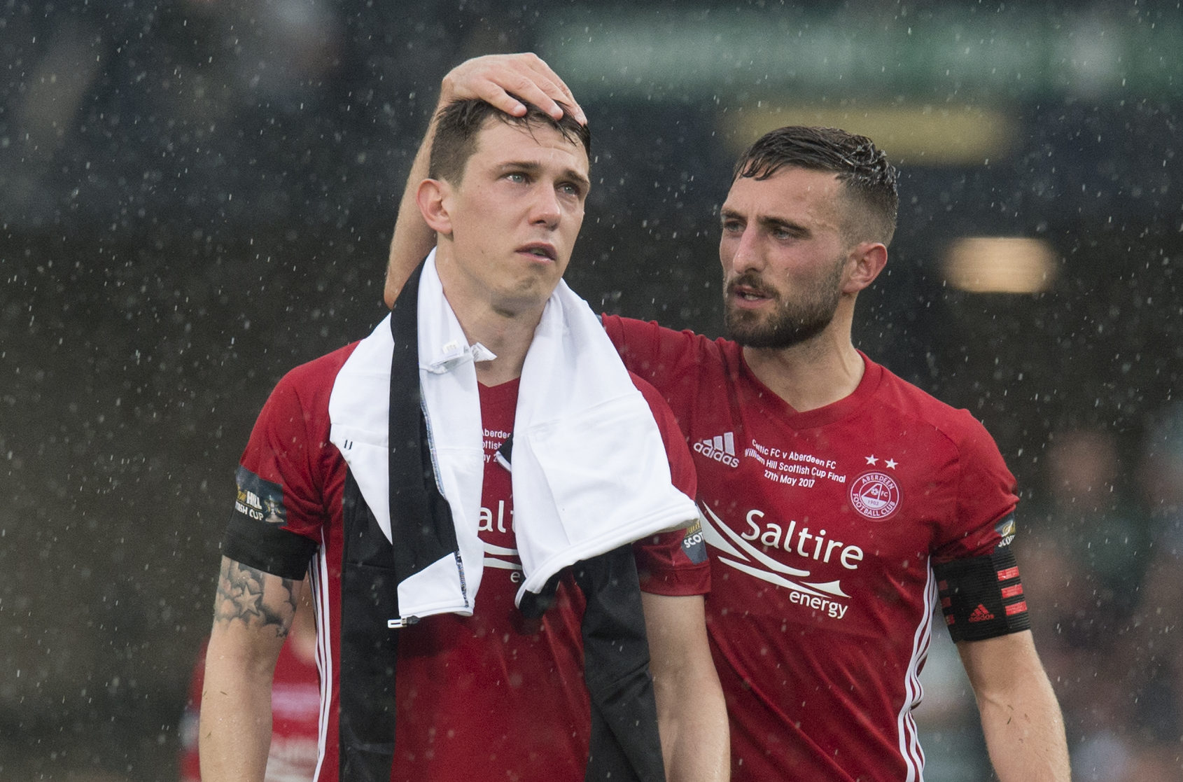 Midfielder Ryan Jack, left, moved to Rangers in 2017.