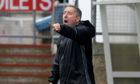 Peterhead boss Jim McInally.