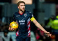 Marcus Fraser in action for Ross County.