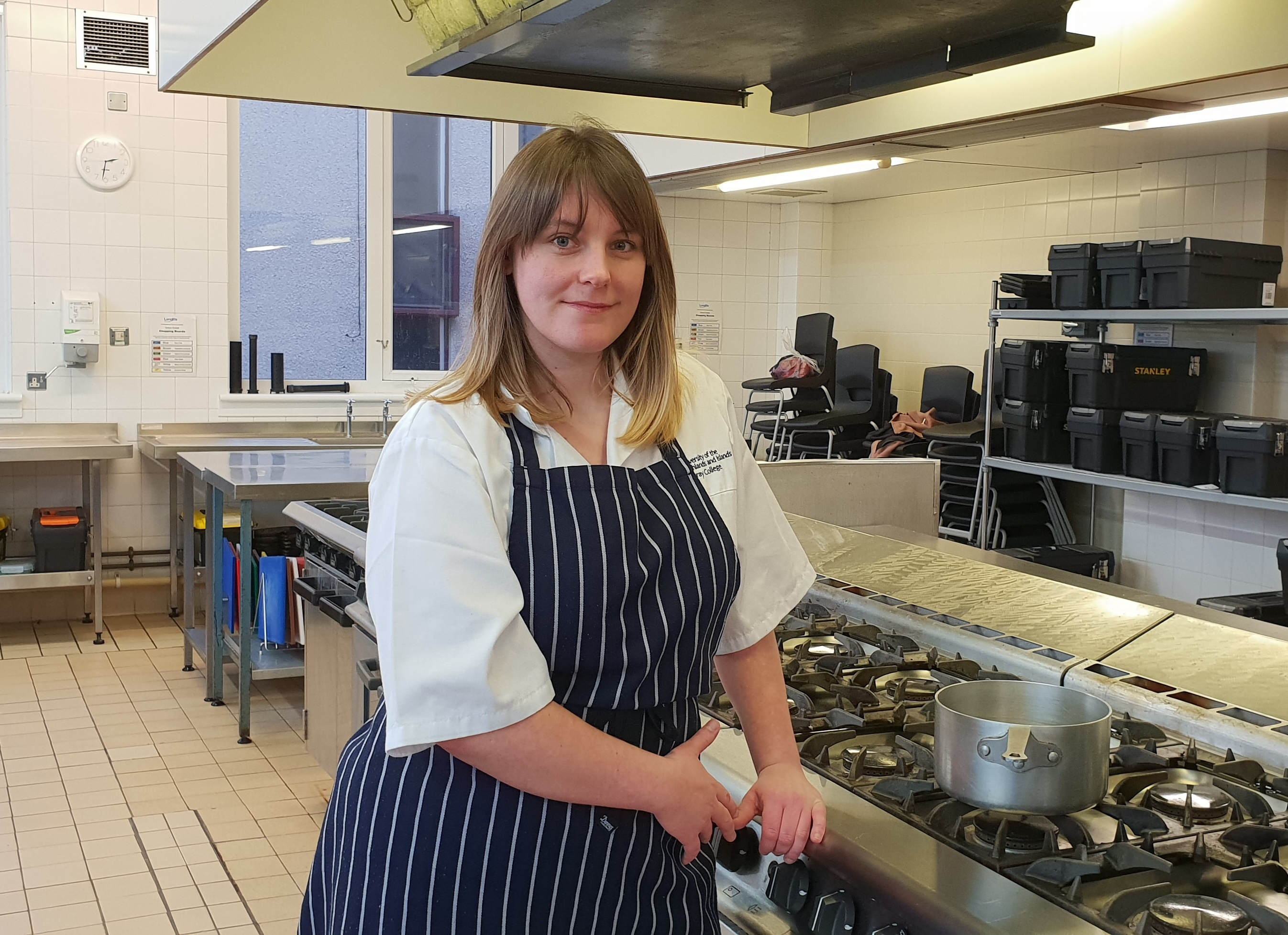 Nicole Laing is in the finals of Young Risotto Chef of the Year.