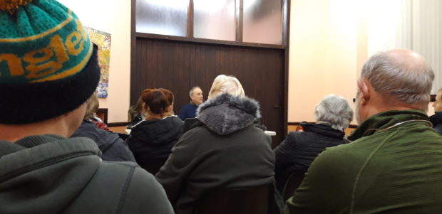Capacity meeting discusses the news of a hydro plant and power house on the doorstep.