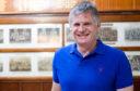 Former Scotland rugby international and BBC presenter John Beattie.