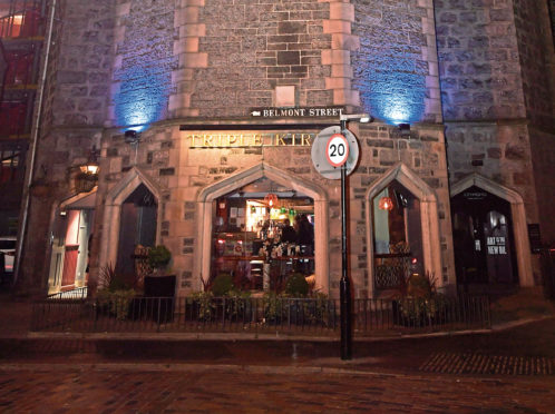 The Triple Kirks in Aberdeen