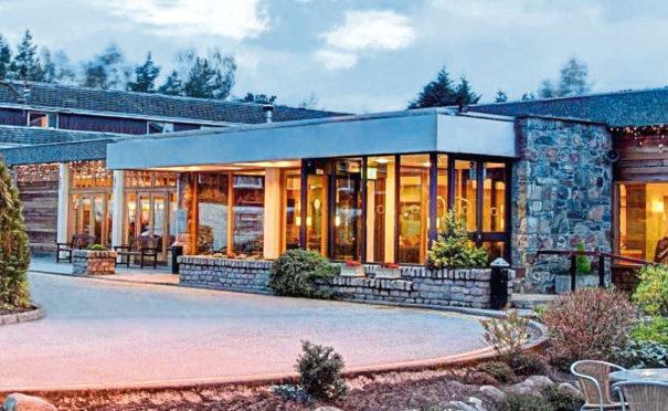The Coylumbridge Hotel in Aviemore.