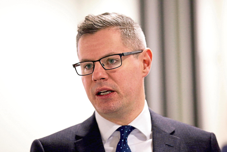Economy Secretary Derek Mackay