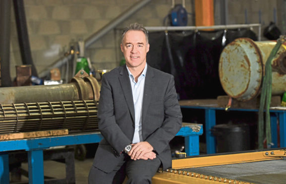 PJ- Business;  Glacier Energy Services, Unit 12B, Altens Industrial Estate, Peterseat Dr, Aberdeen. Pictured is Scott Martin, chief executive of Glacier Energy Services. 10/01/19 Picture by HEATHER FOWLIE