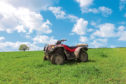 Farmers have been reminded not to let children travel on ATVs.