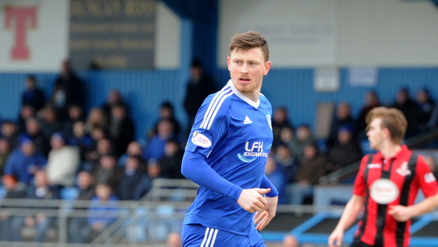 Shane Sutherland has been transfer-listed by Peterhead.