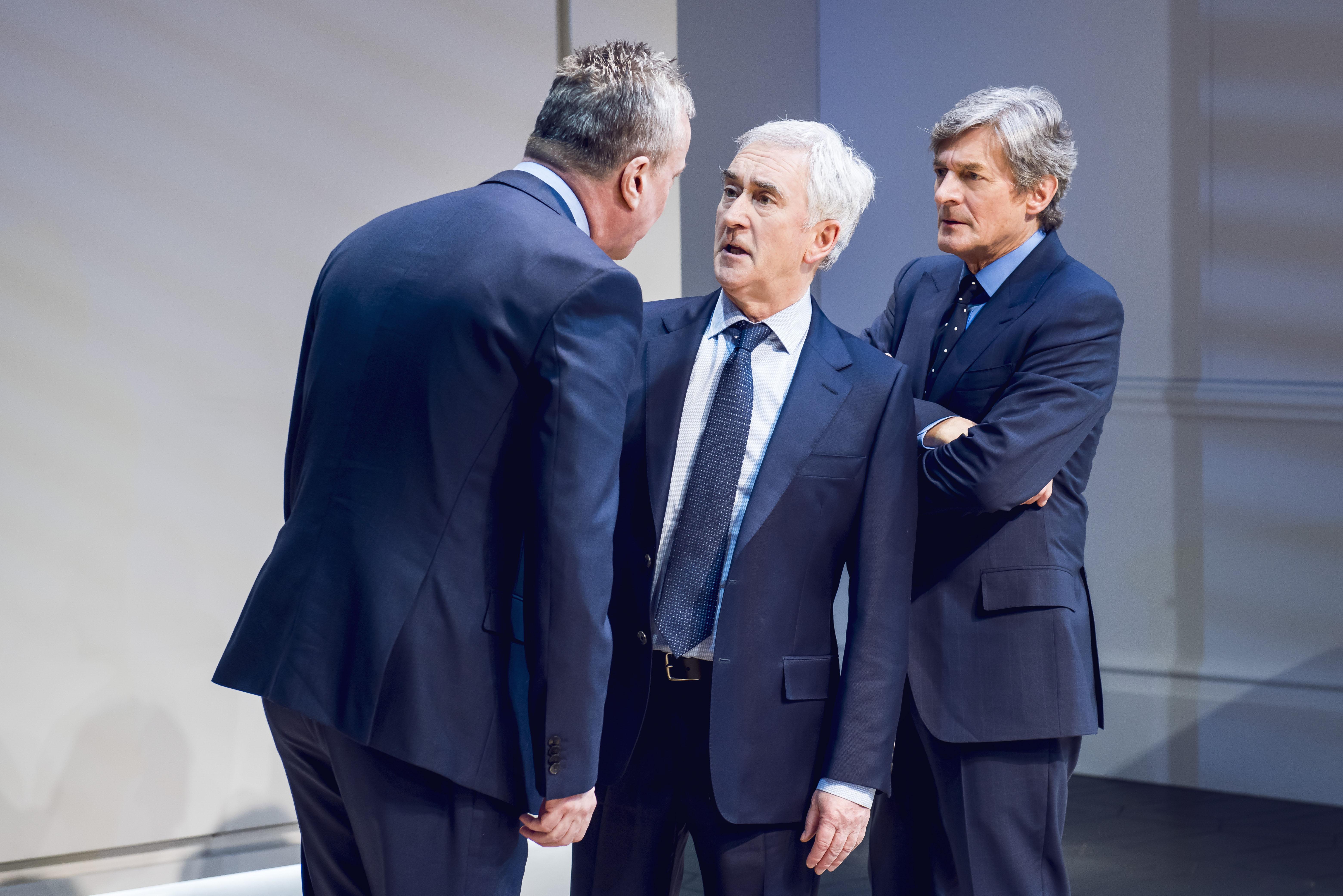 Stephen Tompkinson, Denis Lawson and Nigel Havers