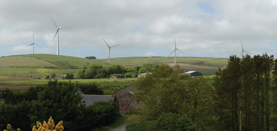 Green Cat Renewables wants to add two turbines to the Deuchries wind farm