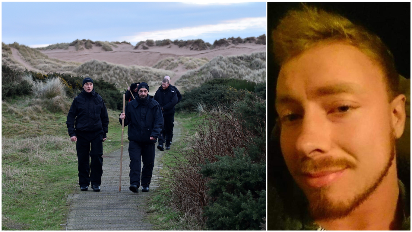 Police have been searching for Alastair Done at Balmedie Beach.