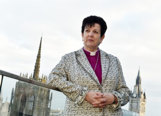 Rt Rev Anne Dyer, the Bishop of Aberdeen and Orkney.