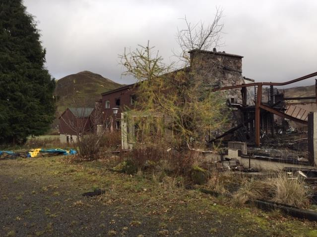 The former Spittal of Glenshee Hotel is set to be redeveloped after planning was granted in principle over the proposed development.