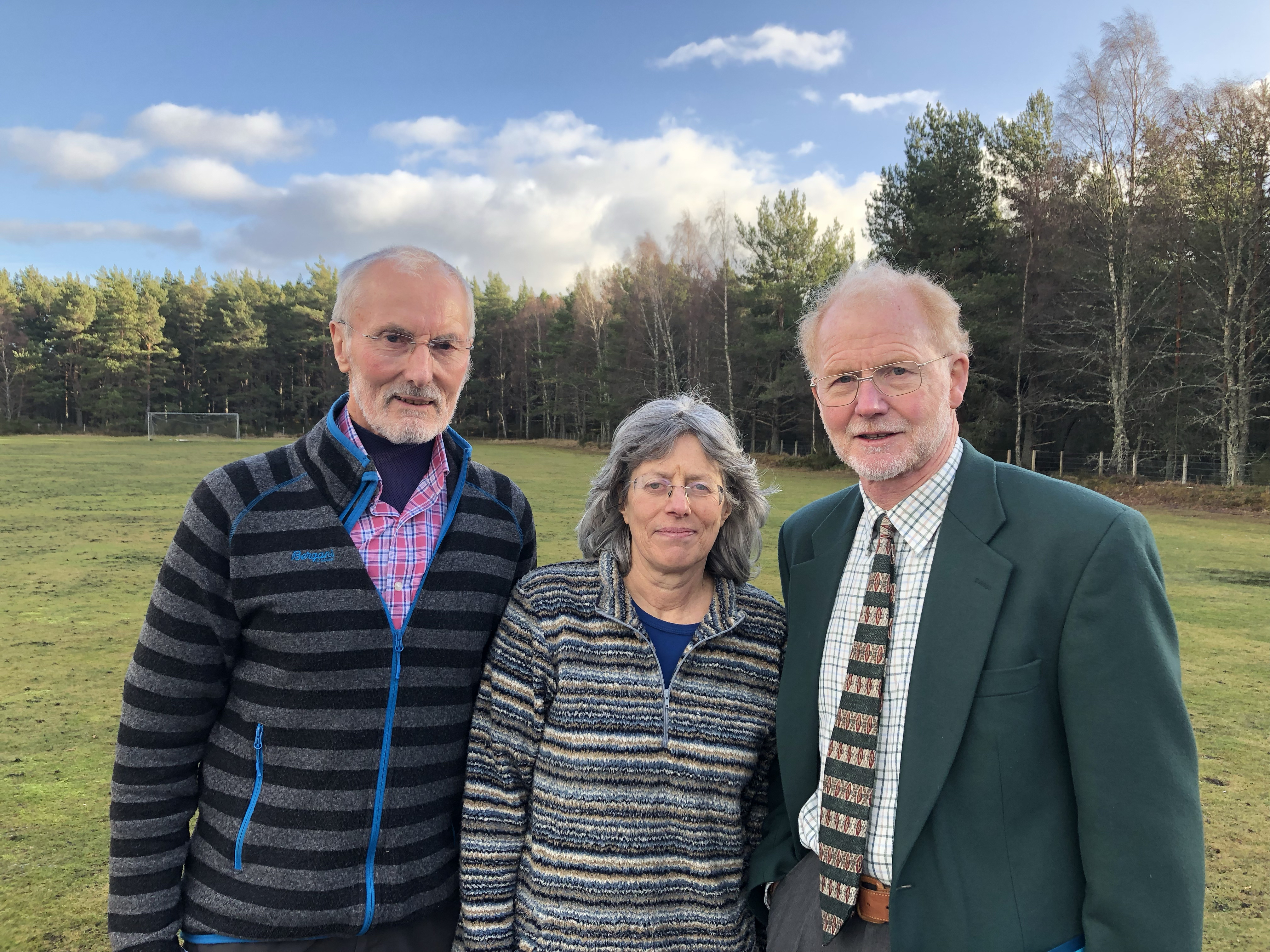 Local man Dave Morris, Tessa Jones of the Badenoch and Strathspey Conservation Group and George Allan of the North East Mountain Trust were left disappointed at the decision after providing committee members with their reasons why the application should be rejected