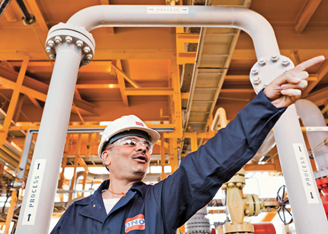 DNO has been successful in gaining control of Faroe Petroleum.