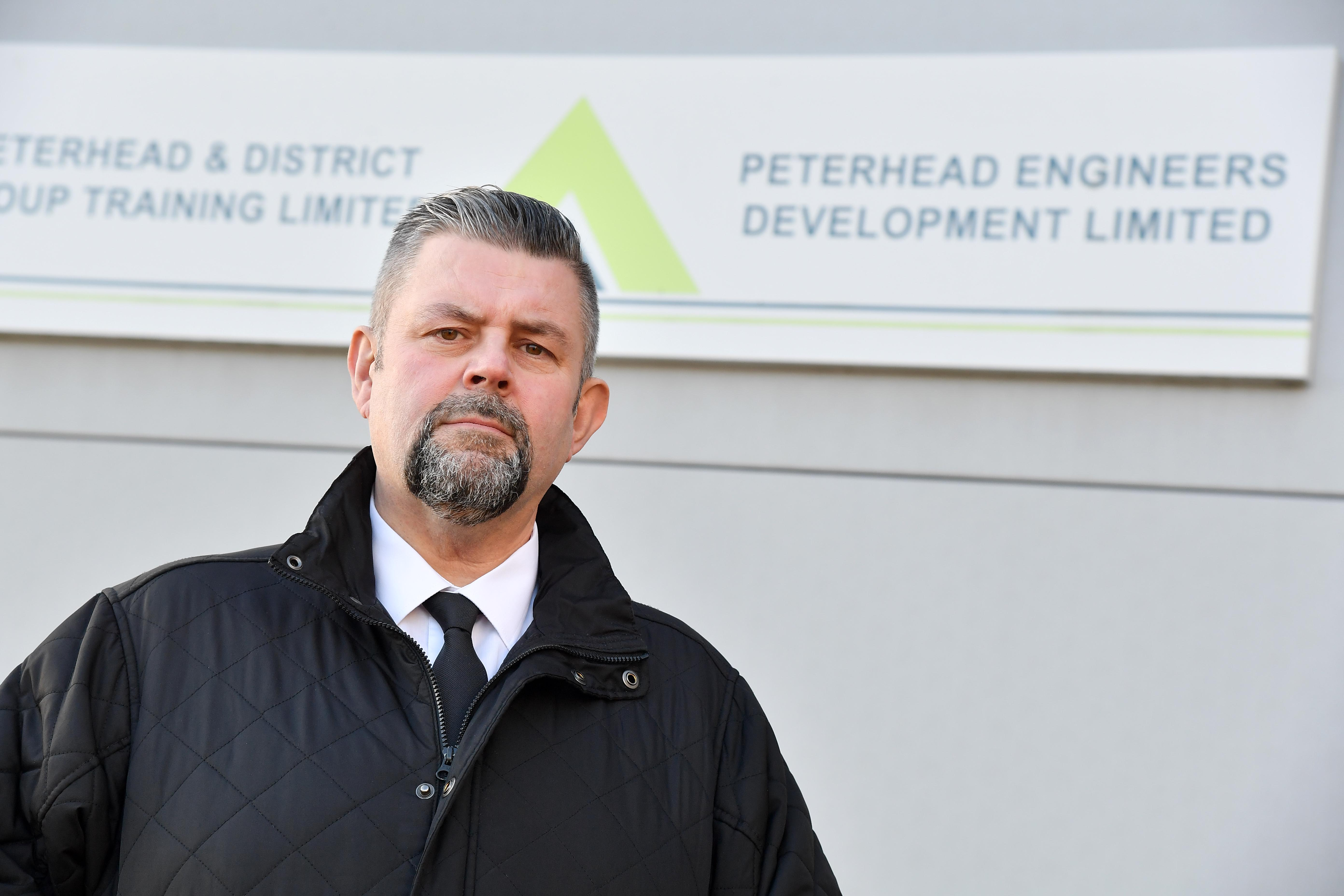 Conrad Ritchie at Peterhead Engineers Development