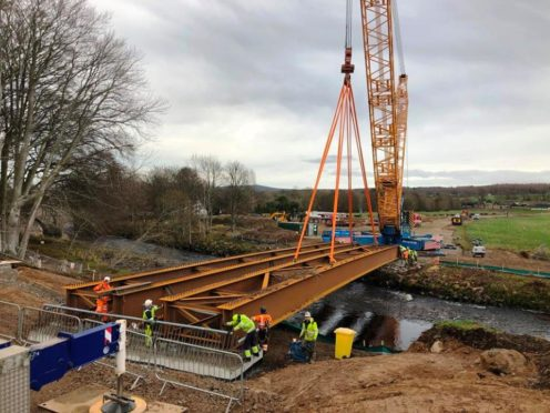 New £2.65m crossing begins to take shape.