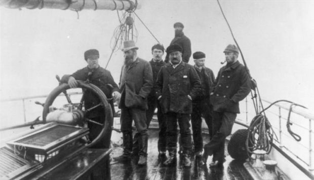 Sir Arthur Conan Doyle worked on the whaling ship Hope in 1880.