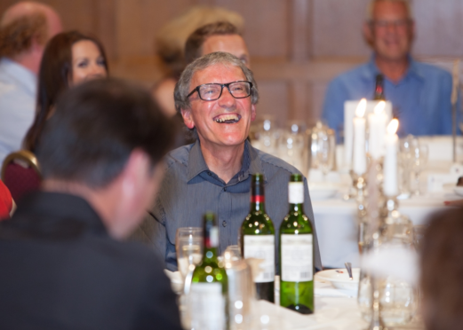 David Lessels at his retirement event in 2013