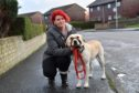Jennifer Wood who wants a dedicated dog park in Fraserburgh where she could let her Labrador Ozzy off the lead.
