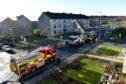 Scottish Fire and Rescue Service at the scene.