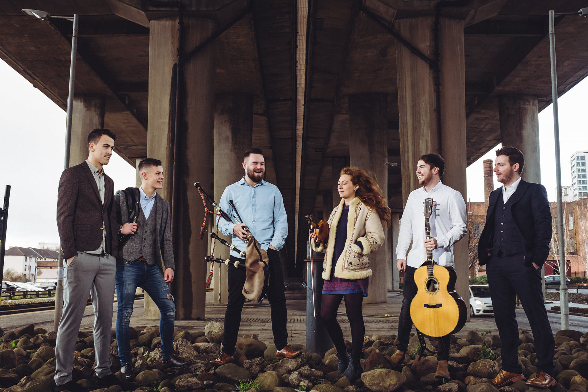 Vibrant Celtic trad band Ho-Ro are set to rock the stage at the the Black Isle Show